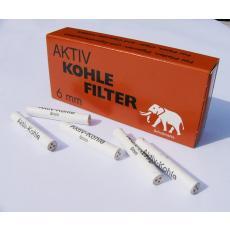 Aktivkohlefilter 6mm
